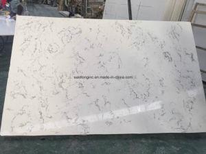Marble Color Countertop Artificial Quartz Slab Stone Factory Price pictures & photos