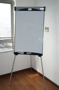 Durable Class Furniture Magnetic Whiteboard with Stand pictures & photos