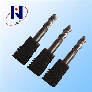 High Perfprmance D6X15X50L HRC55 2/4 Flutes Solid Carbide Flat End Mill pictures & photos