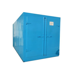Natural Gas Powder Coating Oven