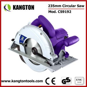 235mm Professional Wood and Plastic Cutting Electric Circular Saw pictures & photos