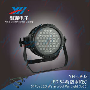 54PCS*3W LED RGBW Waterproof LED PAR Stage Light pictures & photos