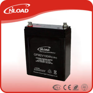 2V100ah Lead Acid AGM Battery Manufacturer for UPS pictures & photos