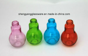 Colors Lamp Bulb Glass Bottle/ Spray Colors Bottle pictures & photos