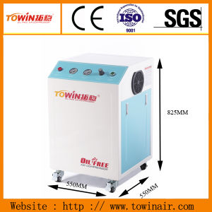Mini Cabinet Supper Silent Oil-Free Air Compressor for Hostipal (TW7501S) pictures & photos