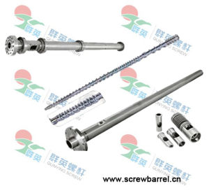 Bimetallic Screw and Barrel for Injection Moulding Machine (QYY008)
