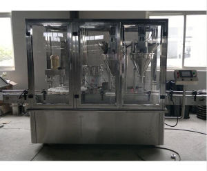 Automatic Powder Bottle Filling Machine pictures & photos