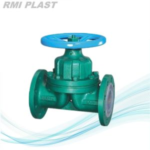 Fluorine Plastic Lined Diaphragm Valve pictures & photos