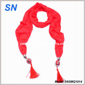 Bijoux Embellished Lady Scarf (SNSMQ1014) pictures & photos