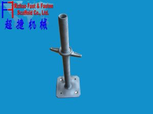 Q235 Steel Galvanized System Scaffold Screw Jack Base pictures & photos