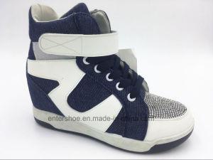 Warm Winter Injected Women Hidden Heel Shoes (ET-XK160239W)