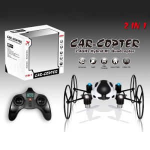 2.4G 4CH 6-Axis RC Drone Car Copter Skywalker with HD Camera 360-Degree Flip pictures & photos