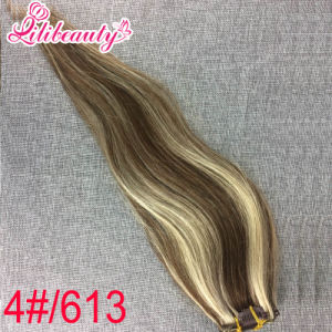 Real Brazilian Remy Human Hair Clip in Hair Extensions UK pictures & photos