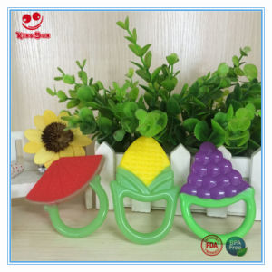 Fruit Design Silicone Baby Teether Customized pictures & photos