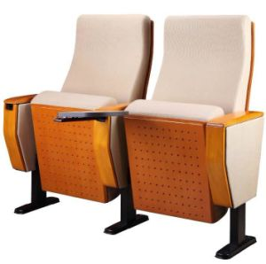 Comfortable Beige Auditorium Seating / Cinema Chair (YA-11B) pictures & photos