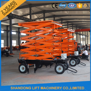 8m Removable Aerial Work Platform with 500kgs Lift Capacity pictures & photos
