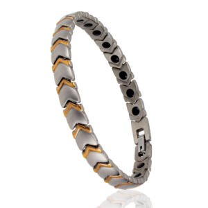 Health Care Jewelry Stainless Steel Magnetic Energy Bracelet pictures & photos