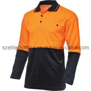 Wholesale Safety En471 Reflective Work Polo Shirt ANSI Class 3 (ELTHVJ-80) pictures & photos