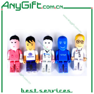 Robot USB Stick with Customized Logo 16 pictures & photos