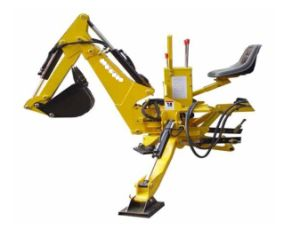 China Best Seller Self Power and Towable Small Backhoe, Towable Mini Backhoe, 3 Point Hitch Backhoe pictures & photos