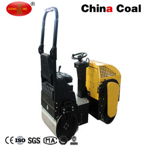 Double Drum Walk Behind Vibratory Road Roller pictures & photos