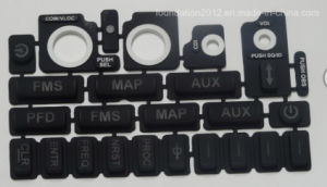 High Sensivity Black Silicone Rubber Keypad Switch Panel Button pictures & photos