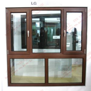 LG Profile Colored PVC Casement Window (BHP-CWP14) pictures & photos