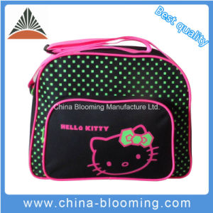 New Style Polyester Beach Shopping Weekend Leisure School Shoulder Bag pictures & photos