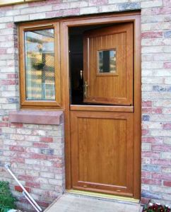 Classical Super Quality PVC Stable Door (BHP-CD10) pictures & photos