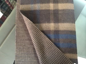 Cashmere Reversible Tartan Men Scarf CS15081901 pictures & photos