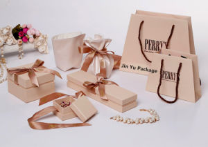 Rigid Gift Paper jewelry Boxes Factory with Custom Logo pictures & photos