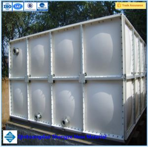 Fiberglass GRP FRP Fire Water Storage Tank pictures & photos
