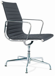 2015 Modern Without Wheels Leather Office Chair (SZ-OC105) pictures & photos