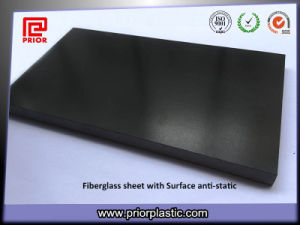 Surface ESD Fr4 Fiber Glass Sheet Black Color pictures & photos