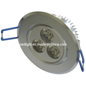 AC85-265V 3W LED Ceiling Spotlight (S8605003W)