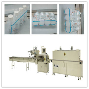 Cosmetic Shrink Packing Machine with Feeder pictures & photos