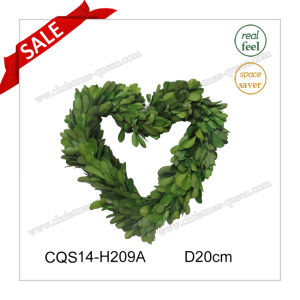 D20cm Wedding Decoration Preserved Boxwood Wreath Craft pictures & photos