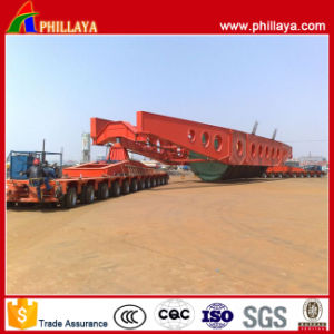 Heavy Engineering Transporter Multi Hydraulic Swing Axles Modular Trailer pictures & photos