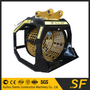 Excavator Parts Screener Bucket, Rotating Screener Bucket pictures & photos