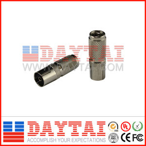 CATV IEC Female Spiral Connector for Rg59/RG6 pictures & photos