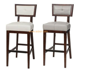 (CL-4413) Classic Hotel Restaurant Club Furniture Wooden High Barstool Chair pictures & photos