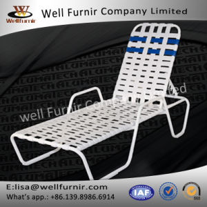 Well Furnir WF-8001 Vinyl Straps Pool Strap Chaise Lounge pictures & photos