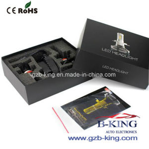 7s H4 6000lm Slim Philips Zes Car Fanless LED Headlight pictures & photos