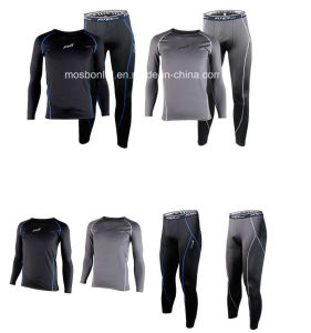 Men Thermal Winter Compression Running Suit Skin Fit Bike/Cycling/Fitness pictures & photos