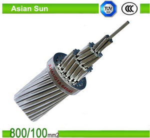 Overhead Transmission Stranded Aluminum Wire Cable ACSR Conductor pictures & photos