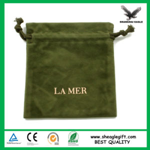 Custom Promotional Velvet Jewelry Bag pictures & photos