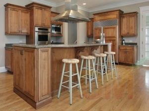 Classical Kitchen Cabinets Set Raised Panel Door Kitchen Cabinet Island