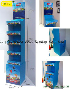 Candy Paper Cardboard Dumpbin Display / Dump Bin Display Stand (B&C-A037) pictures & photos