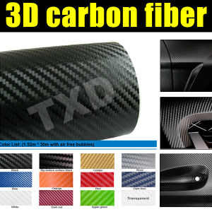 3D Carbon Fiber Vinyl for Car Wrap
