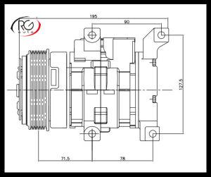 10s13c Air Conditioning Compressor / Auto Compressor pictures & photos